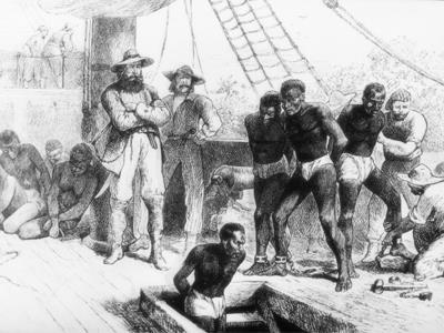 Middle Passage The sea voyage that carried Africans to North America was called the Middle Passage because it was the middle portion of a three-way voyage made by the slave ships.