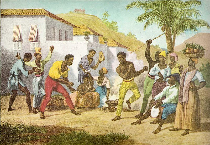 Slave communities were rich with music, dance, basket weaving, and