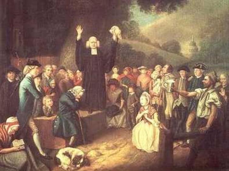 The Great Awakening The Great Awakening was a religious movement influenced by the revivals that were sweeping through England, Scotland, and Germany in the 1730s.