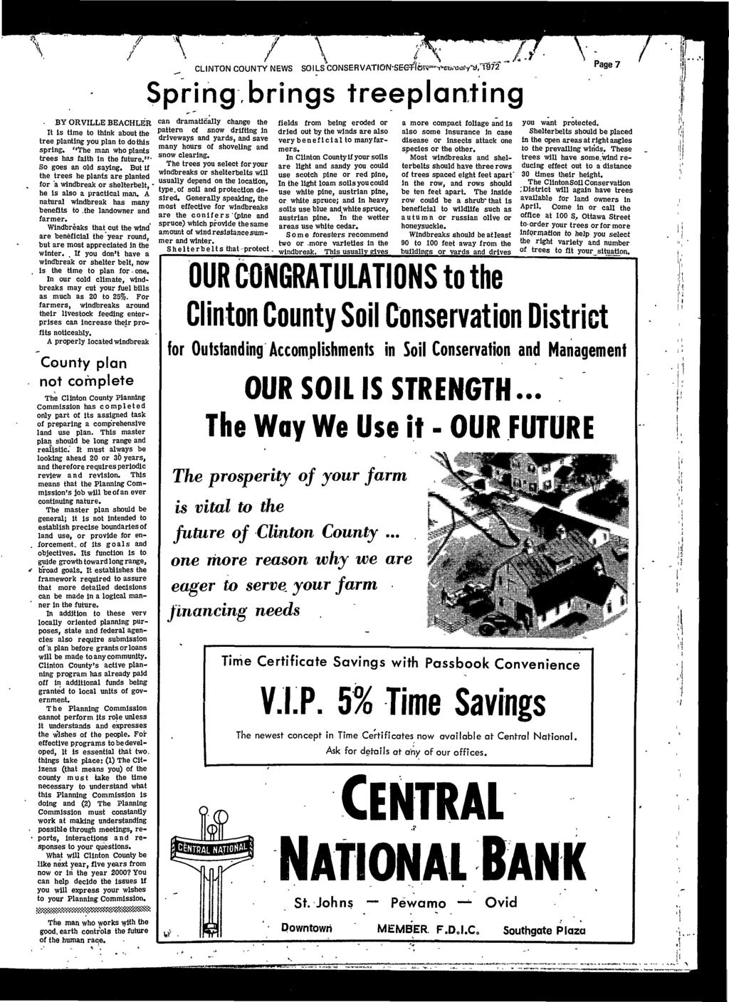 Clinton county news minqkhilcunhmqjisulbxalli5f wednesday by orville beachler it is time to think about the tree planting you plan to fandeluxe Image collections