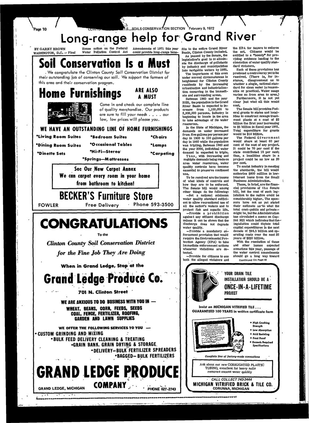 Clinton county news minqkhilcunhmqjisulbxalli5f wednesday page 10 nssails conservation section february 91972 long range help for grand fandeluxe Image collections