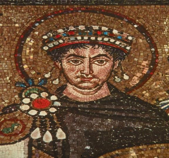 One of the greatest Byzantine Emperors Wife Theodora Rebuilt the empire after a revolt Built the Hagia Sophia grand church Reconquered parts of