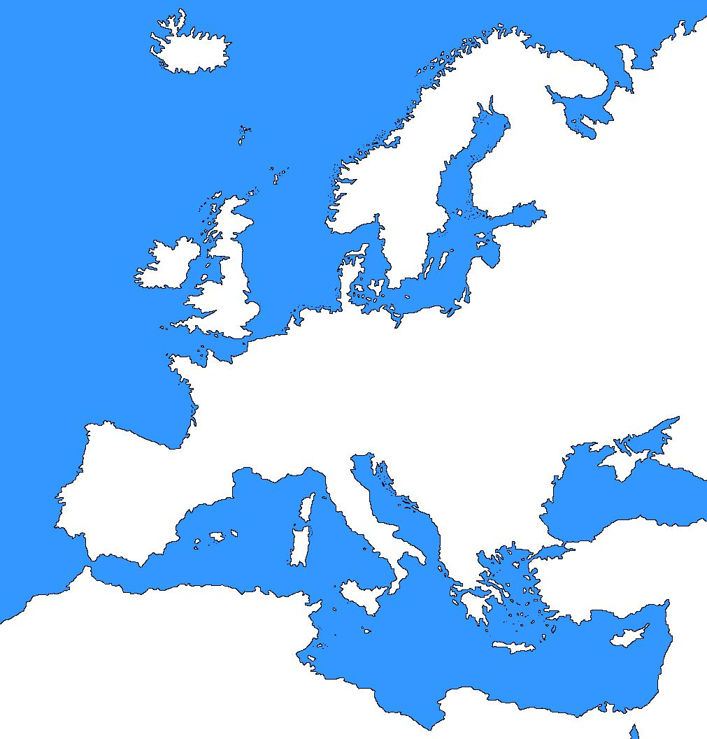 Medieval Europe PRACTICE TEST 7 Diagram and Short Answer Section: Name: 1. Europe During the Middle Ages ( /10) Instructions: Label the letters on the map in the correct places.
