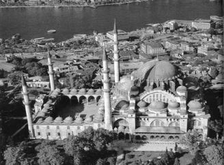! Ottoman sultans worked tirelessly to improve the imperial capital of Constantinople (Istanbul)! Saint Sophia was converted to a mosque! Built the Suleymaniye mosque (below)!