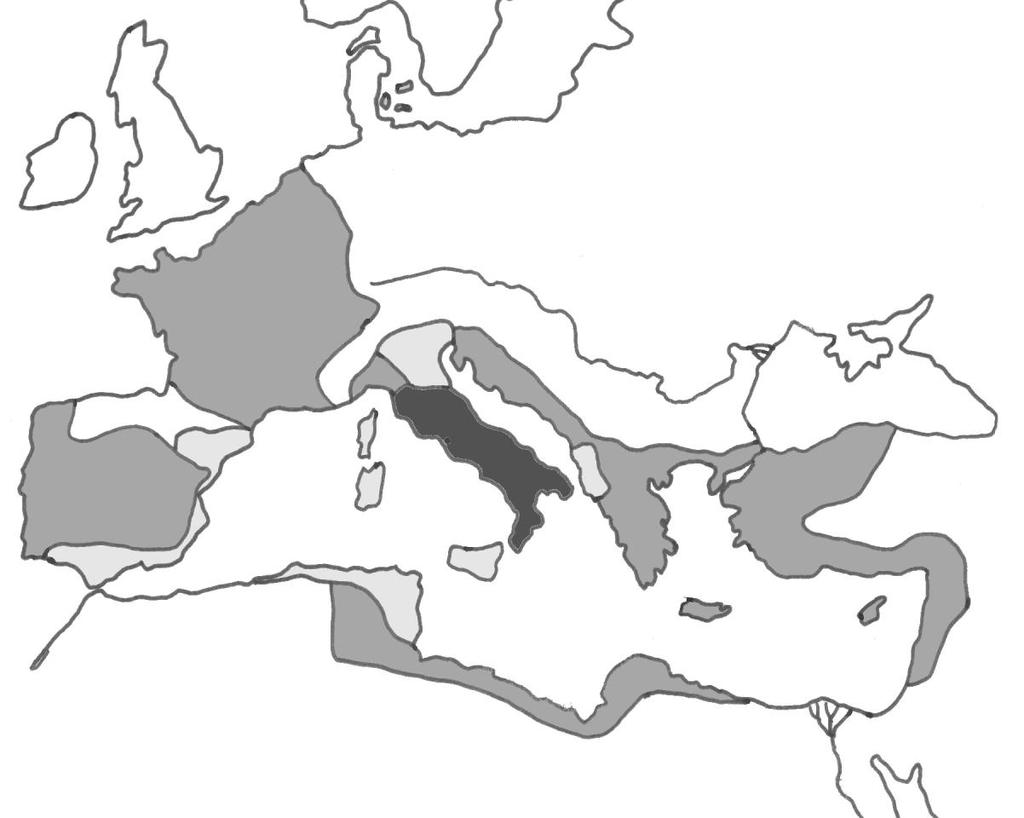Expansion of the Roman Republic: TASK 3: On the map below label the following provinces. The following descriptions will help you.