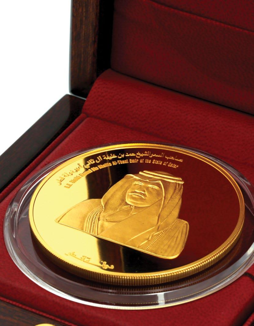 216. Commemorative Gold Coin of H.