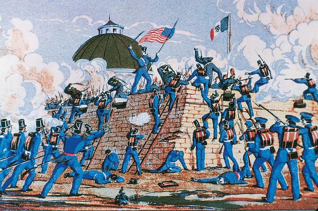 Polk sent General Zachary Taylor and 3,500 troops to observe the happenings along the Rio Grande.