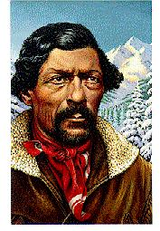 Trails West Mountain Men and the Rendezvous Mountain men trap small animals between the Mississippi, Pacific Ocean Mountain men like Jim Beckwourth become famous as rugged loners William