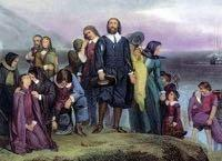 The First British Settlers British who wanted to separate from the