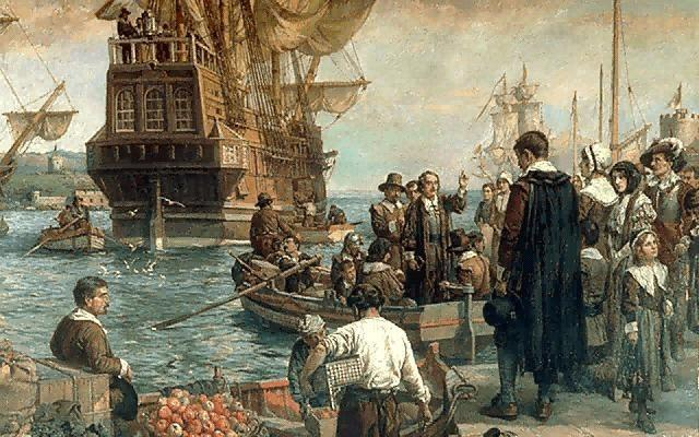 A City Upon a Hill The Pilgrims were made to sign the Mayflower Compact which granted them religious freedom in exchange for loyalty to the British Crown.