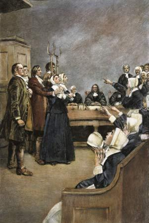 Video: The Salem Witchcraft Trials Based on the information in the video provide an example for each of the aspects of Puritan