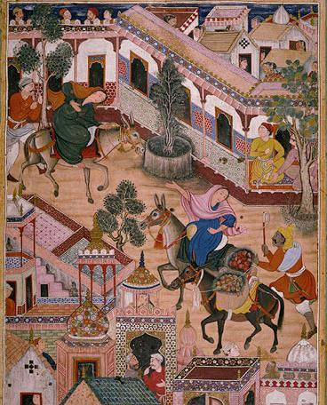 During Akbar s reign, art