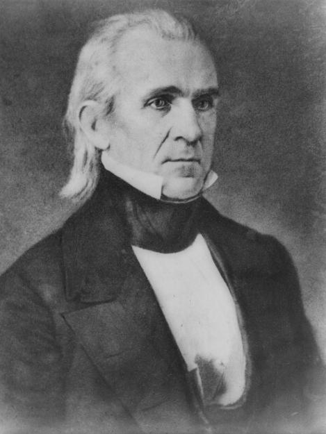 ELECTION OF 1844 CLAY (Whig)VS. POLK (Dem.