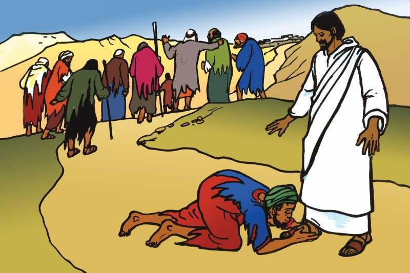 When Jesus came passing by, these lepers knew that He could possibly heal them. Notice they pleaded with Him from a distance because they weren t allowed to go near healthy people.