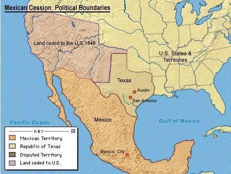 Defeating Mexico Treaty of Guadalupe Hidalgo ended the war - Mexico accepted Rio
