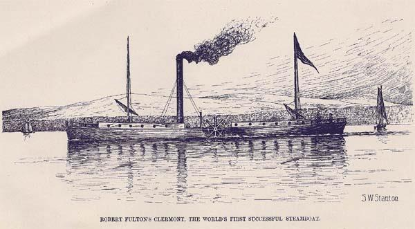 steamboats on western rivers cut freight costs & speeded