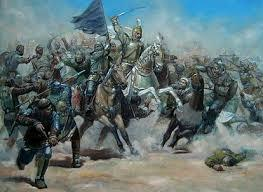 The Arabic Islamic Empire was conquered by the Mongols from Asia.
