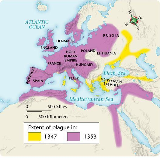 Chapter 9, Section 5 Spread of the Black Death By 1347, the bubonic plague had