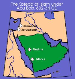 The Rightly Guided Caliphs #1 #1 Abu- Bakr Chosen as (first Caliph) Unified various Arab