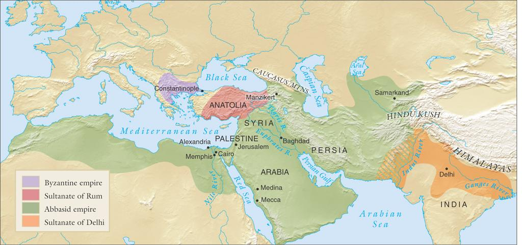 Turkish empires and their