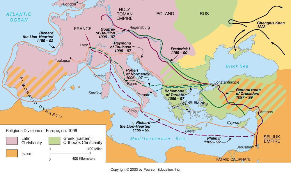 Decline As Rome declined and withdrew these lands suffered severe blows Waves of invaders swept in, and Roman