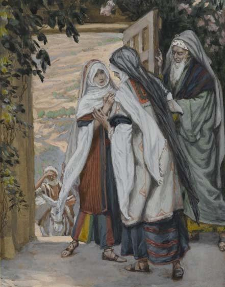 The Visitation Second Mystery: The Visitation During those days Mary set out and traveled to the hill country in haste to a town of Judah, where she entered the house of Zechariah and greeted